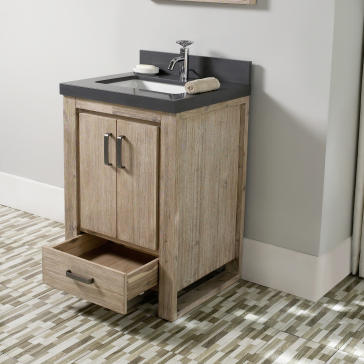 "Bathroom Vanity 24 X 21 fairmont designs 1530-v24 oasis 24"" bathroom vanity 