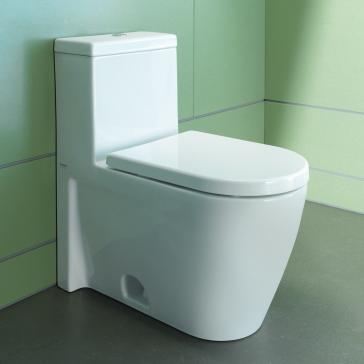 duravit image 1 duravit toilets image 2 duravit starck 2 one piece toilet qualitybath - Duravit Toilet