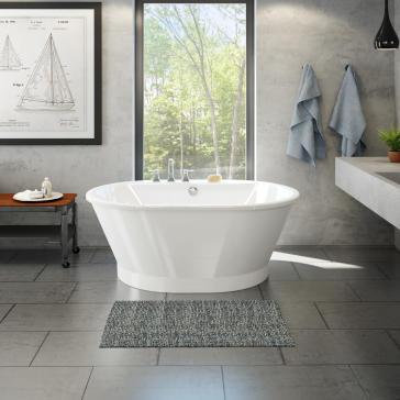 Maax 103901-000-002 Brioso 6042 Freestanding Soaker Tub ...