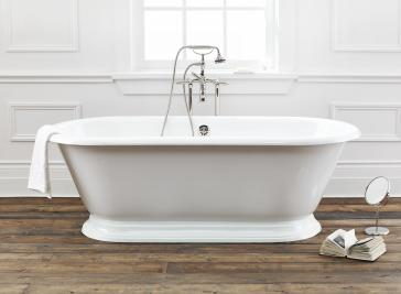 Cheviot 2163-WW Sandringham Cast Iron Freestanding Soaker Tub With ...