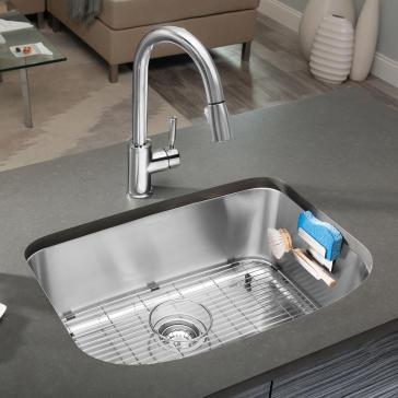 """Undermount Kitchen Single Sink blanco 441587 one 25"""" medium single bowl undermount kitchen sink"""