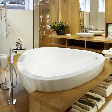 Axor 18950000 Massaud Freestanding Tub | QualityBath.com