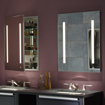 Robern AC2430D4P1 image 1Robern AC2430D4P1 Aio Series 23 1 4  Single Door Mirrored Medicine  . Robern Bathroom Medicine Cabinets. Home Design Ideas