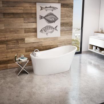 Maax 106266-000 Ariosa 6032 Freestanding Soaker Tub | QualityBath.com