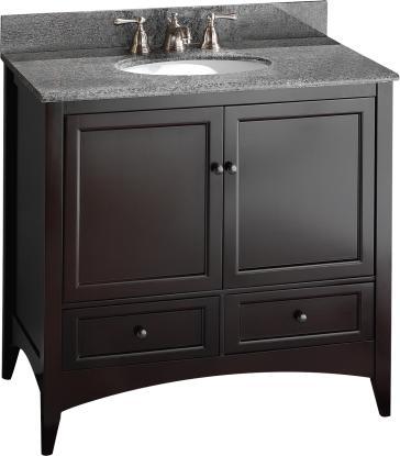 Foremost BECA3621D image 1Foremost BECA3621D Berkshire 36  Bathroom Vanity   QualityBath com. 34 Bathroom Vanity. Home Design Ideas