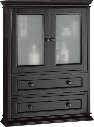 Foremost becw2331 berkshire 23 wall cabinet - Foremost berkshire espresso bathroom wall cabinet ...