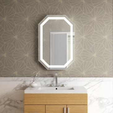 Afina Il 2436 Oc Illume 24 Quot Octagon Backlit Led Mirror