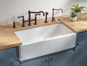 large ceramic kitchen sinks rohl rc3618 shaws 36 quot quot original quot fireclay kitchen sink 6784