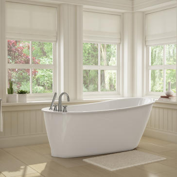 maax sax elegant small sized soaker tub