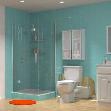 Saniflo Saniplus Saniplus Toilet With Macerator Series Pump