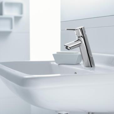 hansgrohe bathroom faucet. Hansgrohe 32040 image 1 Talis S 80 Single Hole Lavatory Faucet