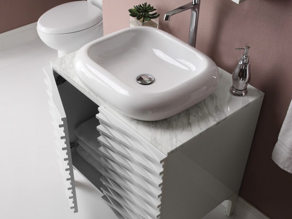 Decolav sink and vanity