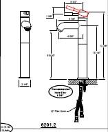California Faucets 6201-2 image-2