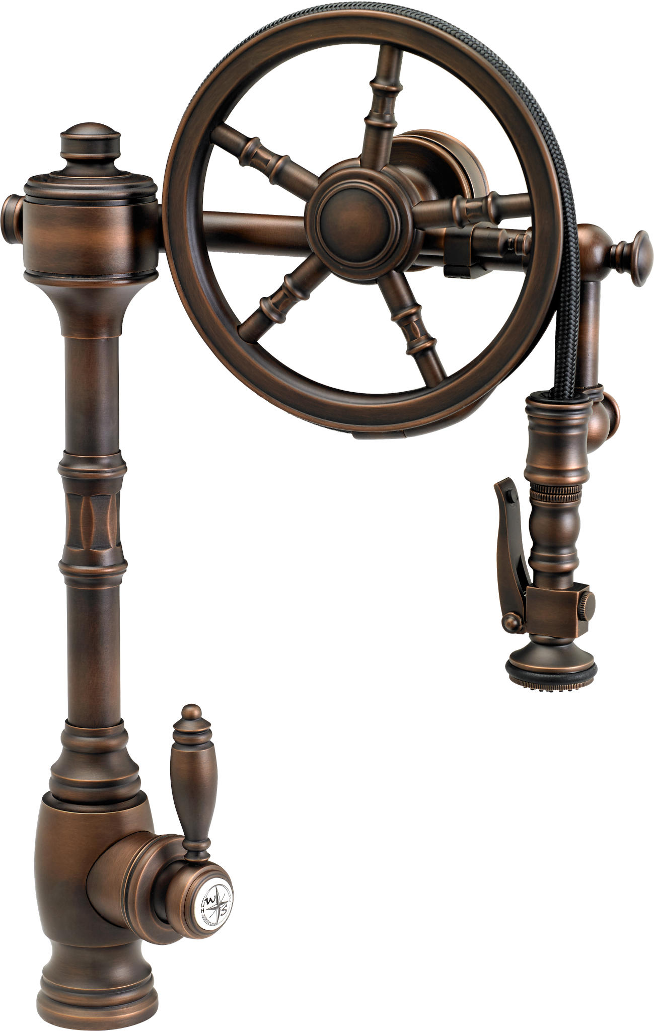 Industrial Style Faucets Past And Future Meet In Steampunk Decor Abode
