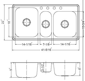 Houzer PGT-4322-1 image-3