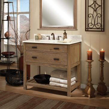 Sagehill designs tb3621d toby 36 one drawer vanity with for Sagehill designs bathroom vanity