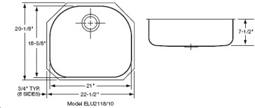 Elkay ELU2118 image-2