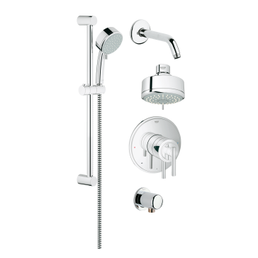 Grohe 35055 Grohflex Shower Set