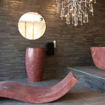 WS Bath Collection Piedra Lounge image-1