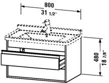 Duravit KT6644