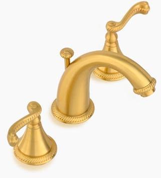 Santec 2220AN image 1  Santec bathroom faucets. Santec 2220AN Kriss Widespread Lavatory Faucet