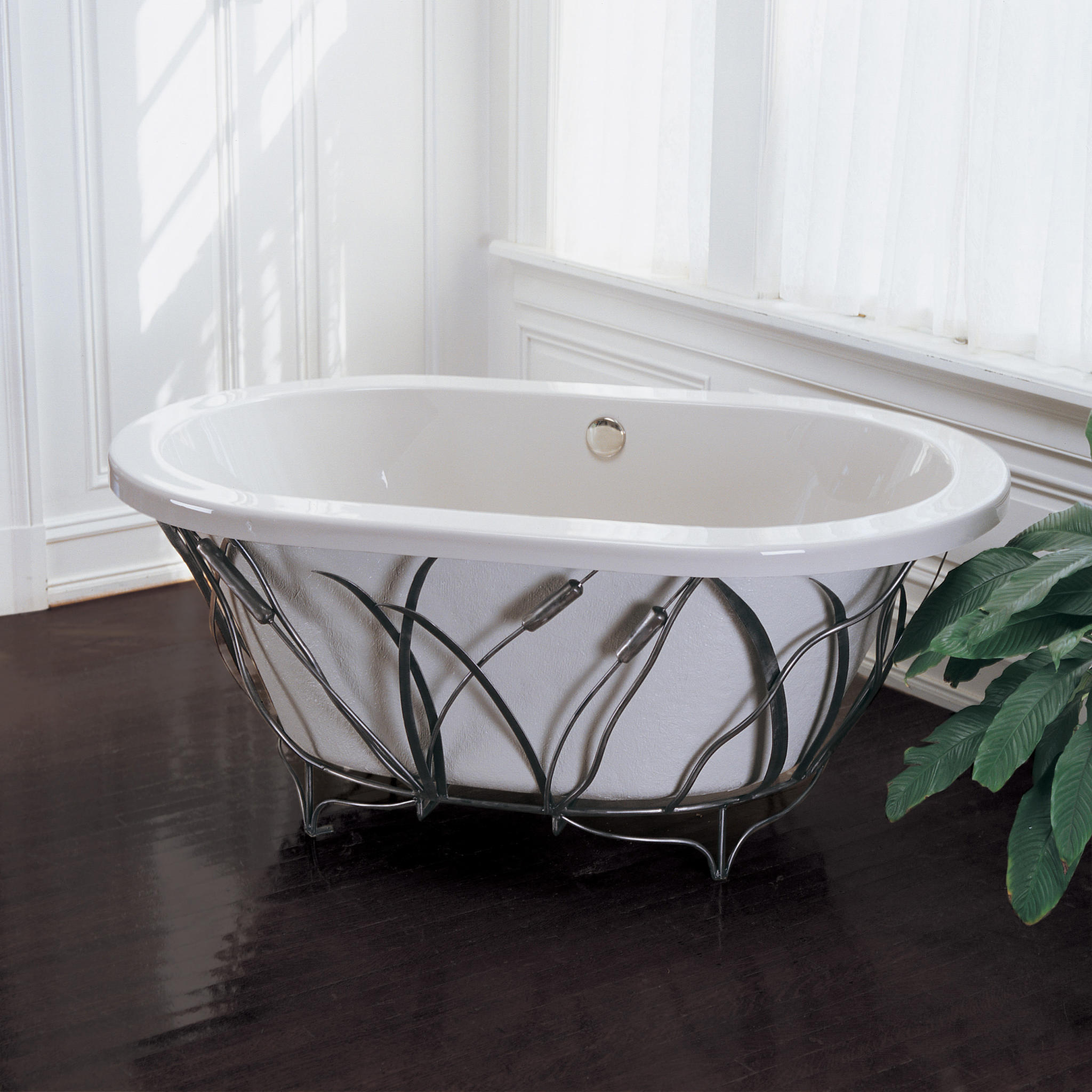 Put Your Bathtub on a Pedestal - Abode