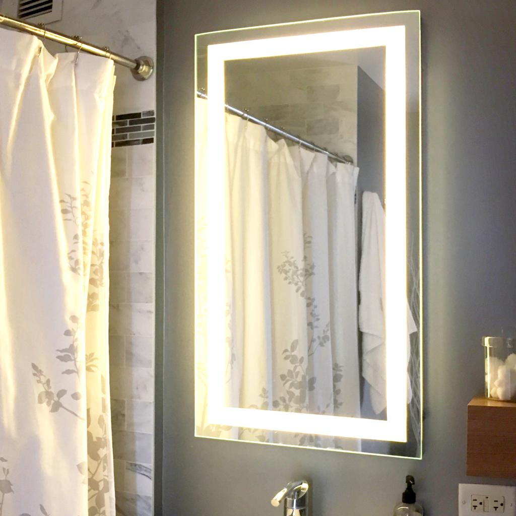 Afina Illume Rectangular LED Backlit Mirror