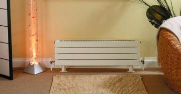 Myson 2h11180 vn h11 baseboard style decor radiator with fins for Myson decor