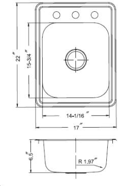 Houzer A1722-7BS-1 image-3