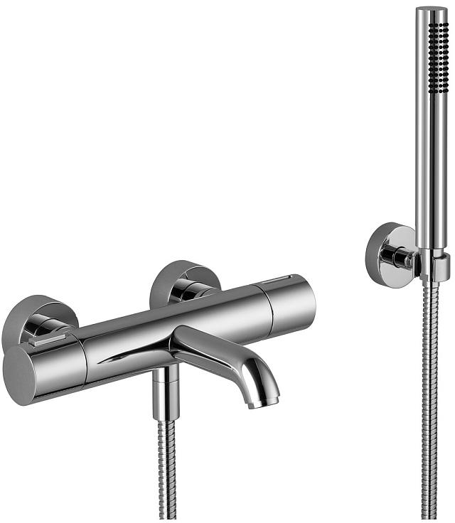 dornbracht meta02 wallmounted tub faucet with handshower