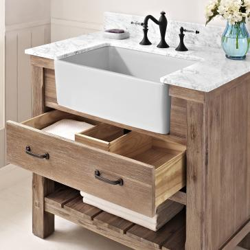 farmhouse bathroom vanity cabinets fairmont designs 1507 fv36 napa 36 quot farmhouse vanity 15274