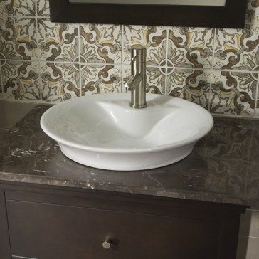 American Standard 0670 00 Morning Above Counter Sink