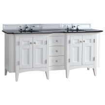 James Martin Furniture 900-V72-PWH-ABK