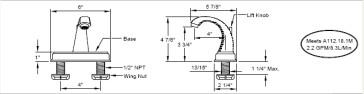 California Faucets 5001 image-2