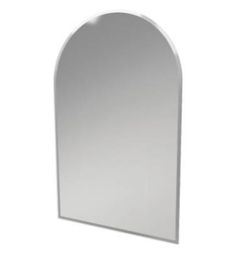 ginger bathroom mirrors 1142n canterbury 24 quot large frameless mirror beveled 12950