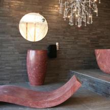 WS Bath Collection Piedra Barrel