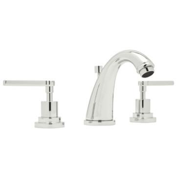 Rohl A1208 Avanti C Spout Widespread Lavatory Faucet