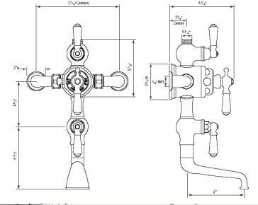 Rohl U.3552L, U.3556X image-2