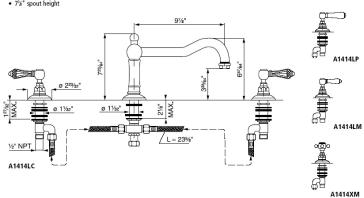 Rohl A1414 image-2