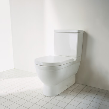 duravit 2125010000 starck 3 two piece toilet set. Black Bedroom Furniture Sets. Home Design Ideas