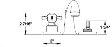 California Faucets 3407 image-2