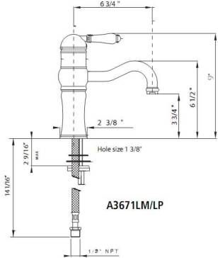 Rohl A3671 image-2