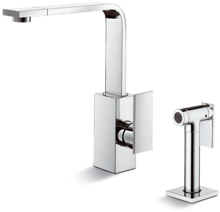 Blanco Pull Out Kitchen Faucet Square