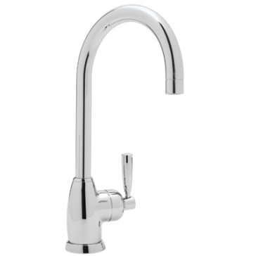 Rohl Perrin Rowe Mimas Contemporary Single Hole Bar Faucet With C Spout