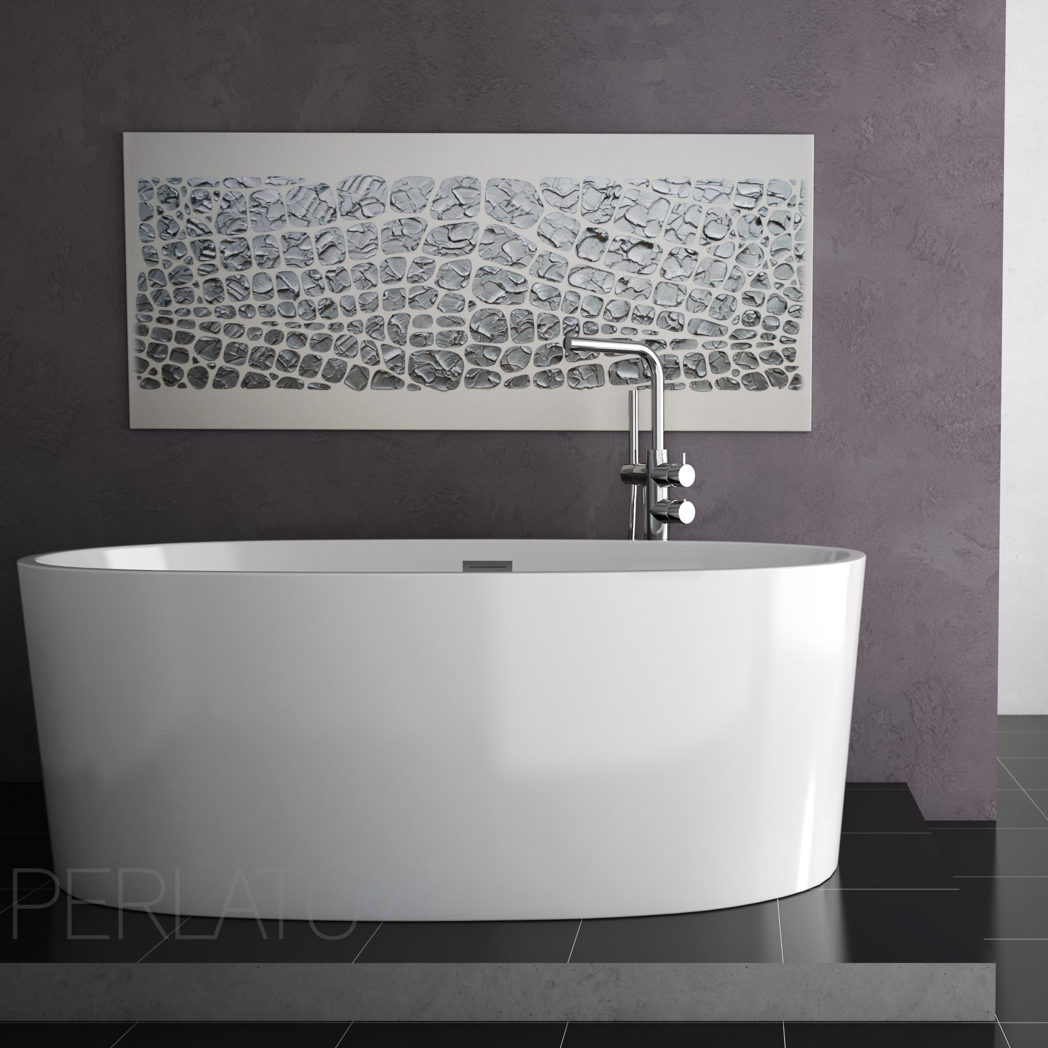 Pretty & Practical: Soaker Tubs by Perlato - Abode