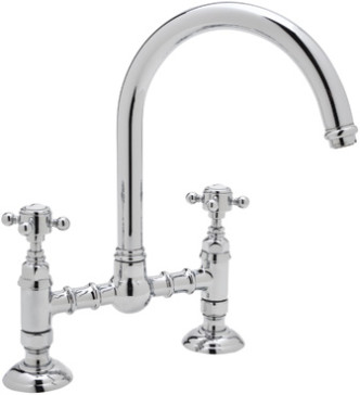 rohl country kitchen bridge faucet rohl a1461 image 1 25593