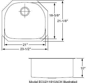 Elkay ECU211810ACH image-2