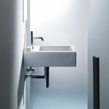duravit 045460 vero washbasin. Black Bedroom Furniture Sets. Home Design Ideas