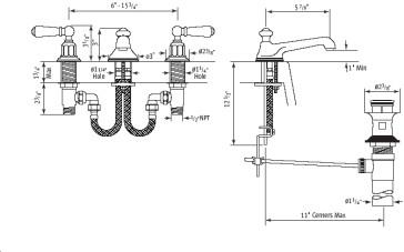 Rohl U.3705L, U.3706X image-2