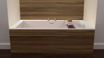 Wetstyle Bc09 Cube Collection Drop In Soaker Tub
